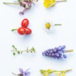 lentebloemen uit eigen tuin